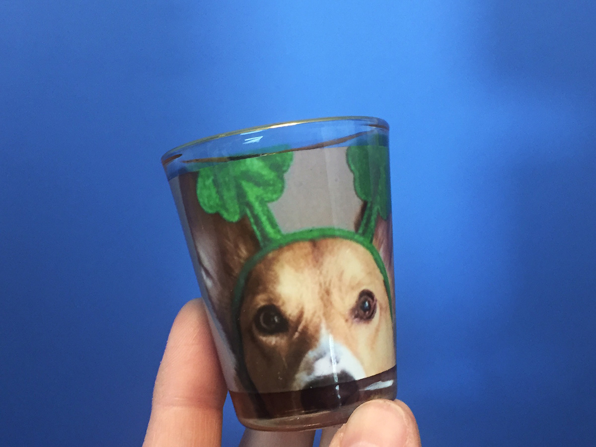 Drink from a cute glass! Make your own St.Patty's Day Shot Glasses. See how on the Pro World Blog!