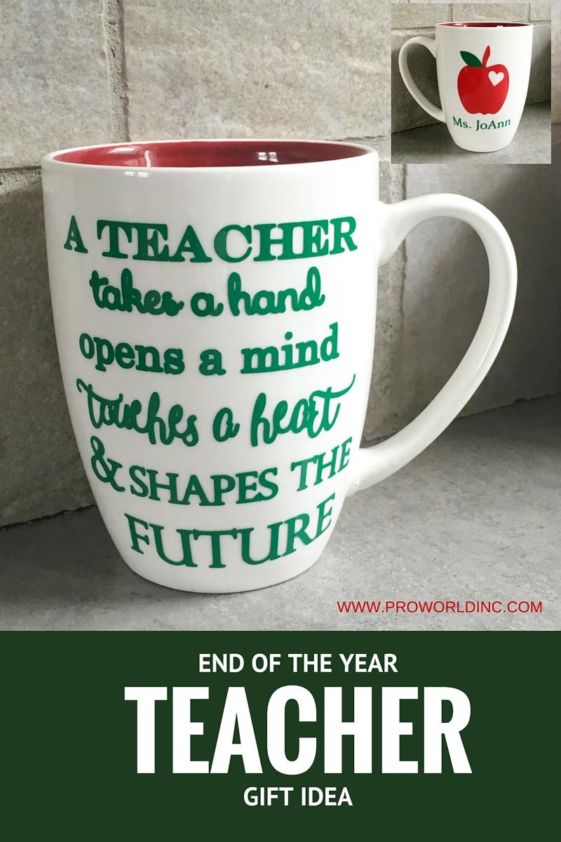 End Of The Year Teacher Gift Pro World Inc Pro World Inc