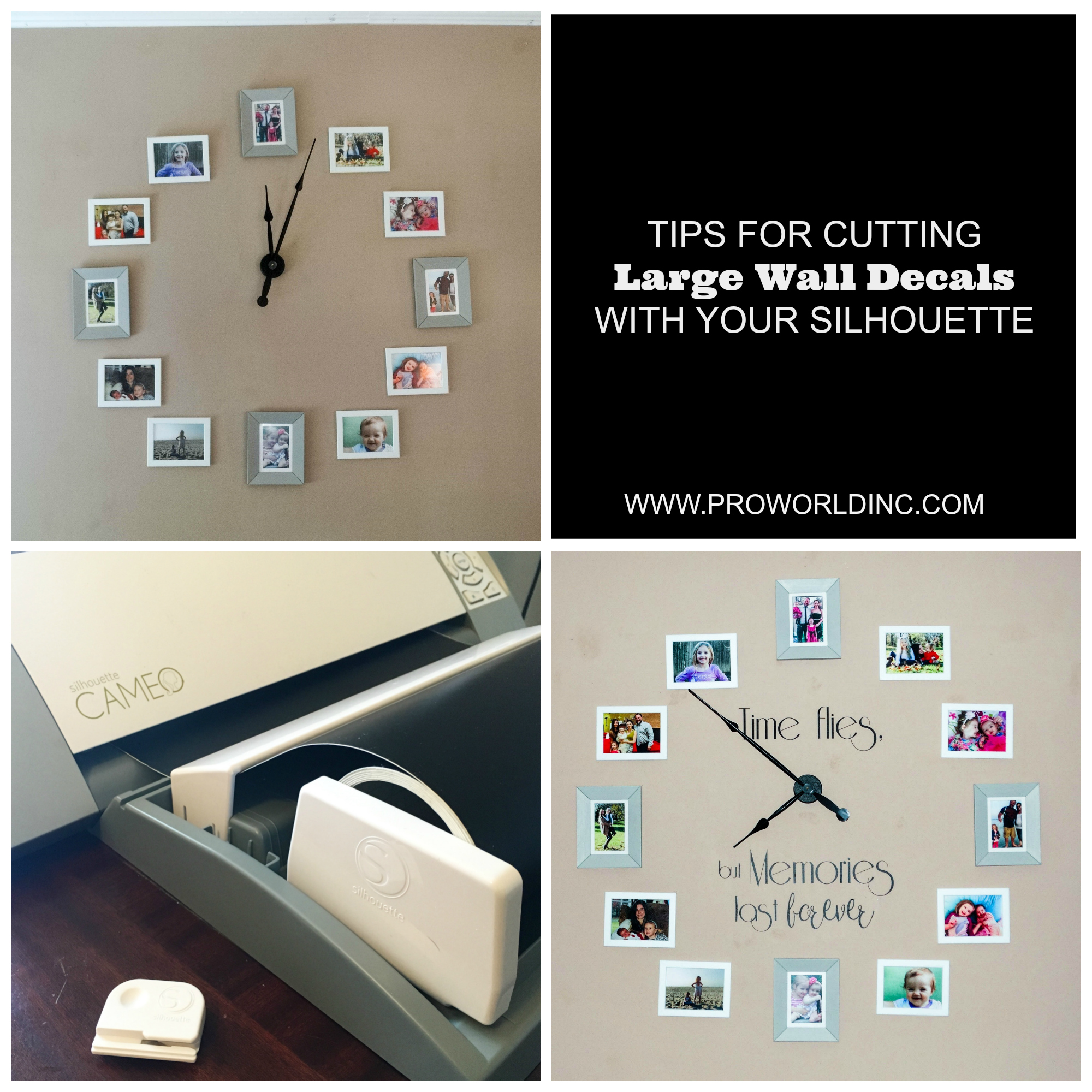 tips for cutting large vinyl decals with your silhouette machine
