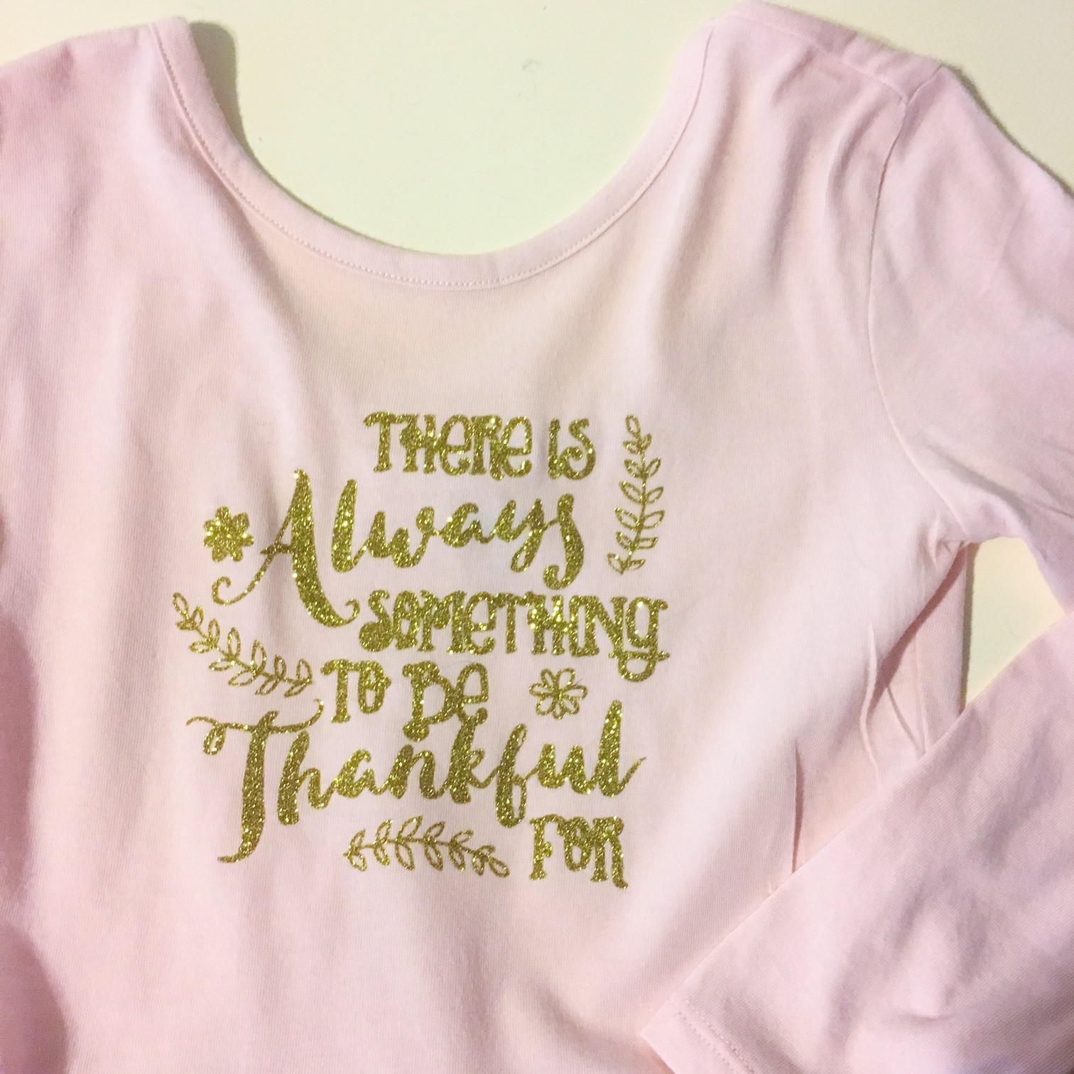 Thanksiving shirt that you can create with heat transfer vinyl