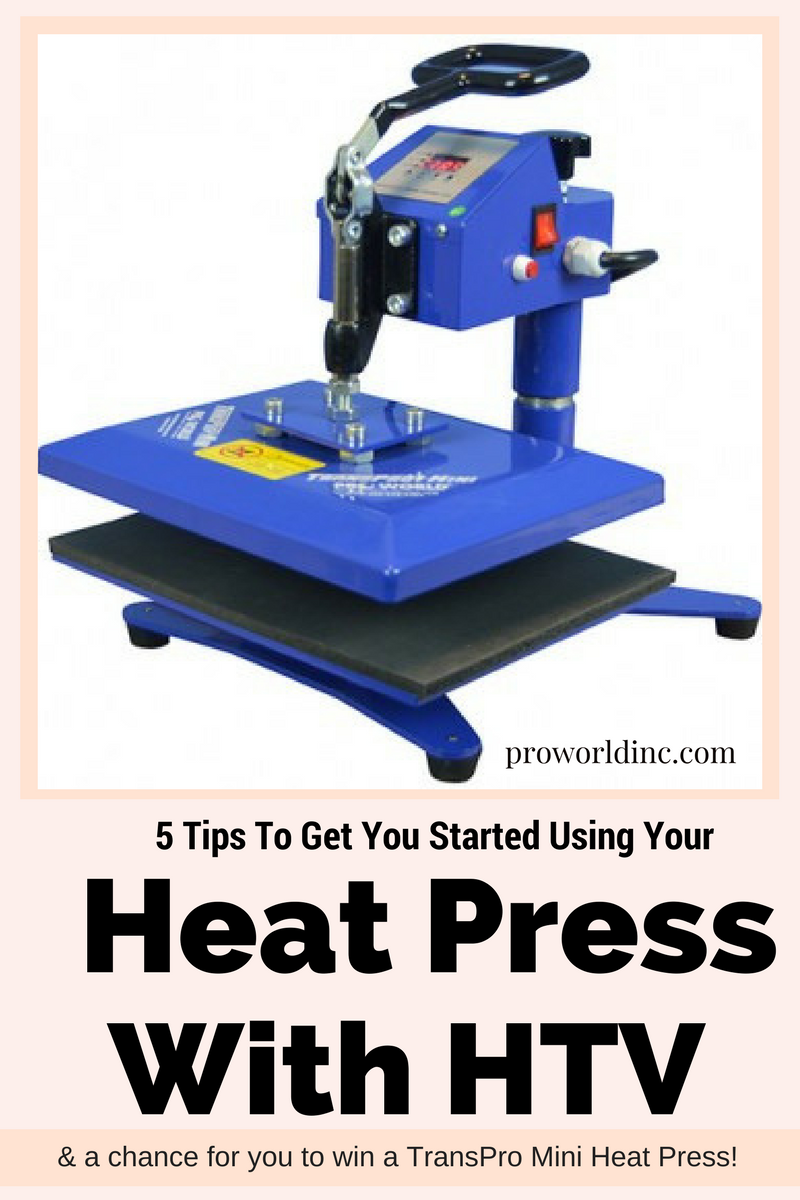 5 Heat Press Tipsto get you started& a GIVEAWAY! (2)