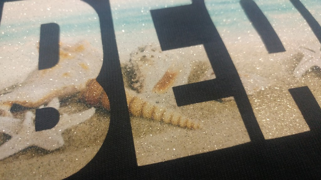 White Glitter HTV And How To Sublimate On It - Pro World Inc