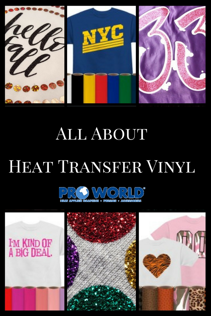 All About Heat Transfer Vinyl