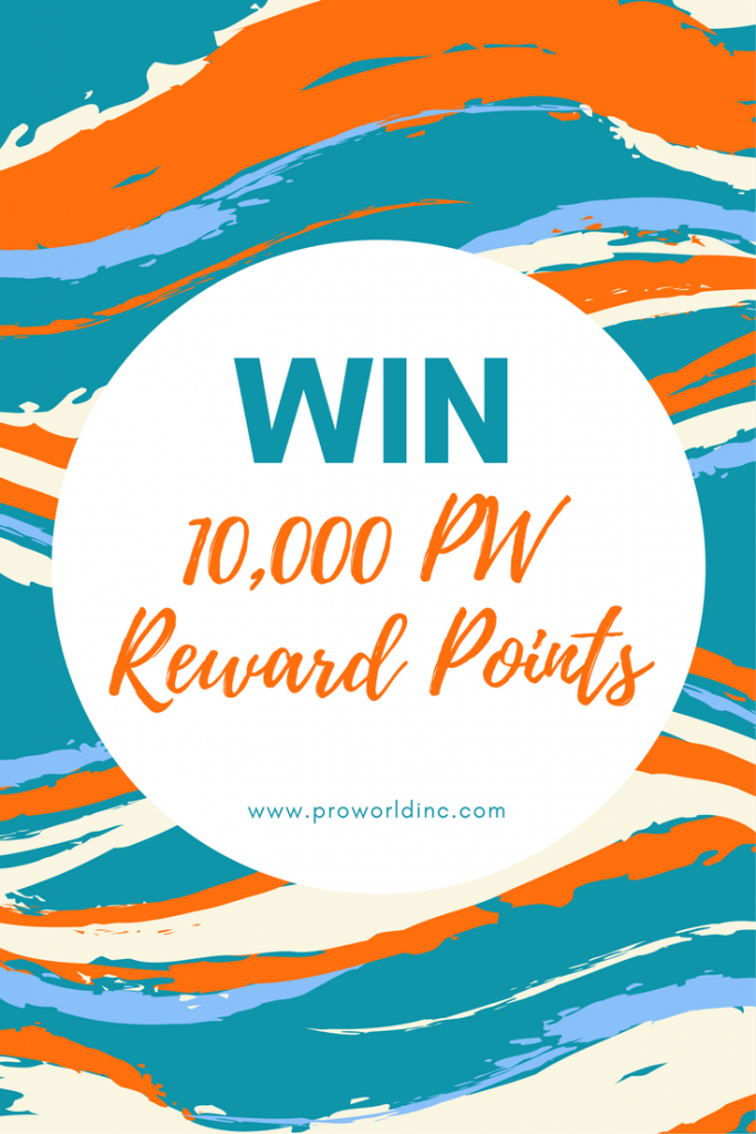pw reward points