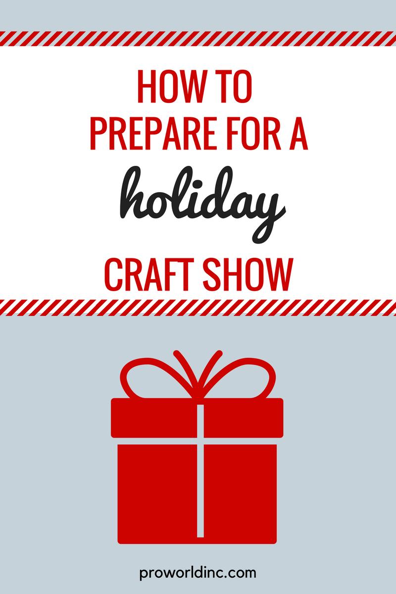 craft show prep