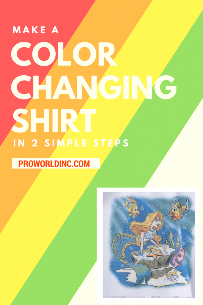 color changing shirt