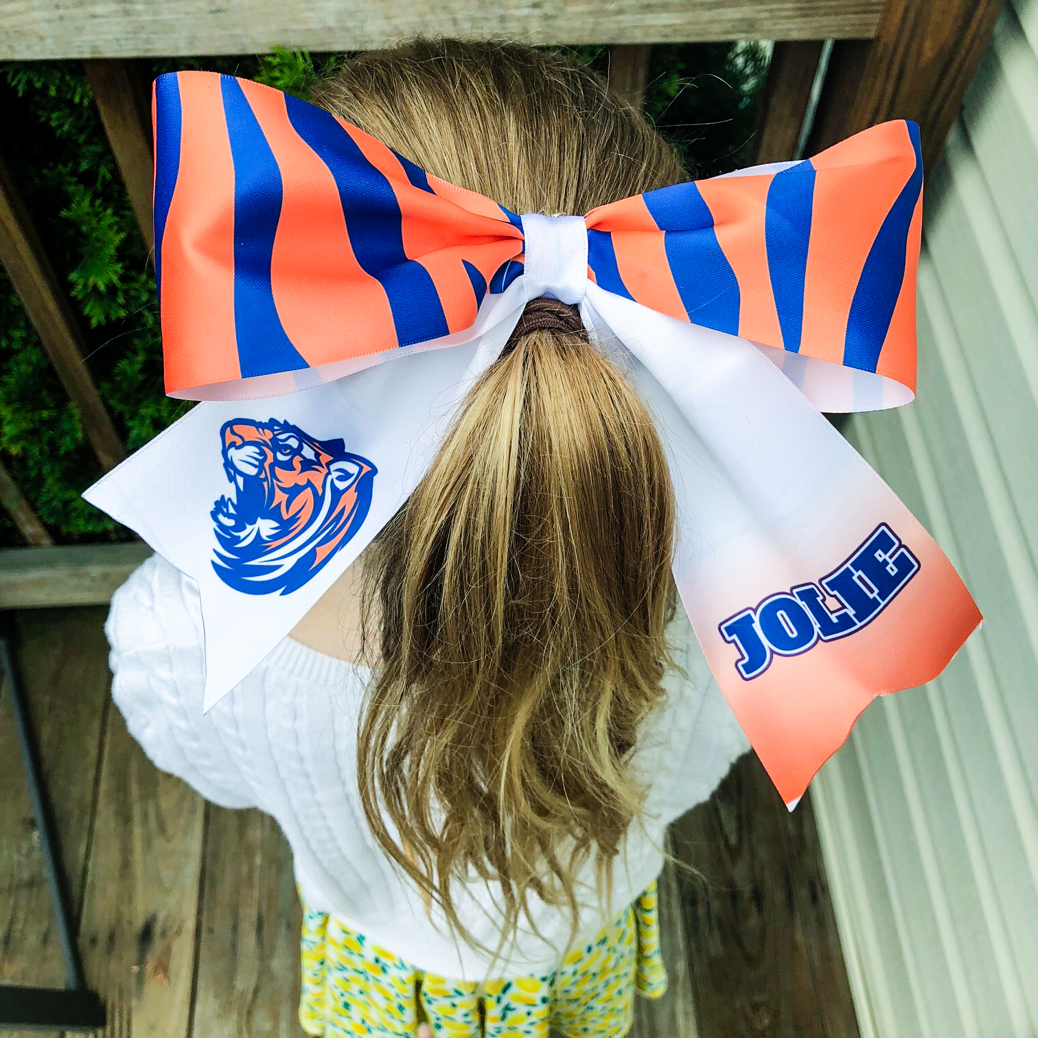 learn how to sublimate a cheer bow