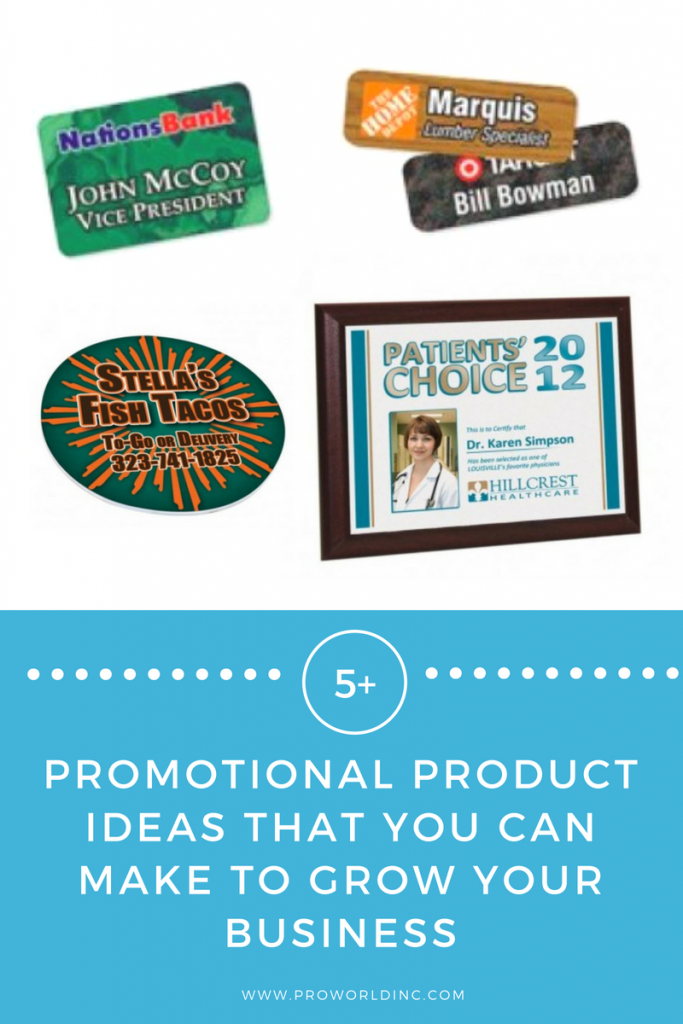 promo products that you can make
