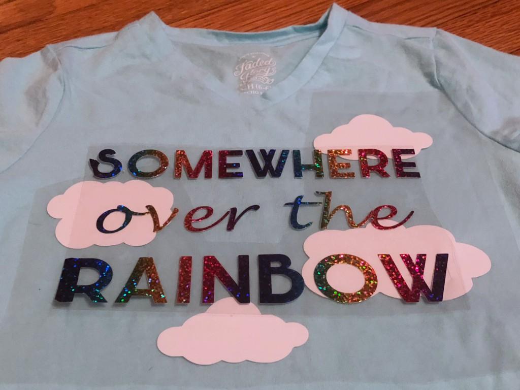 rainbow holographic htv