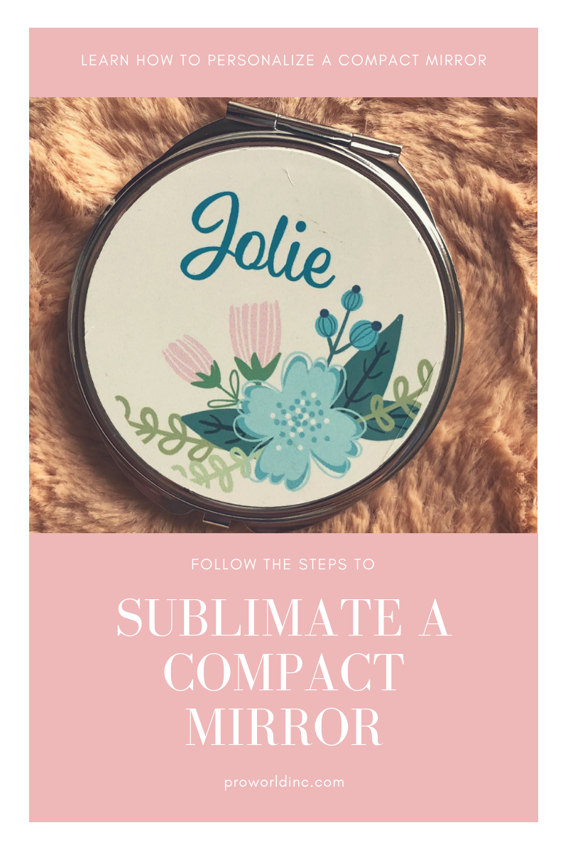 Personalize a compact mirror