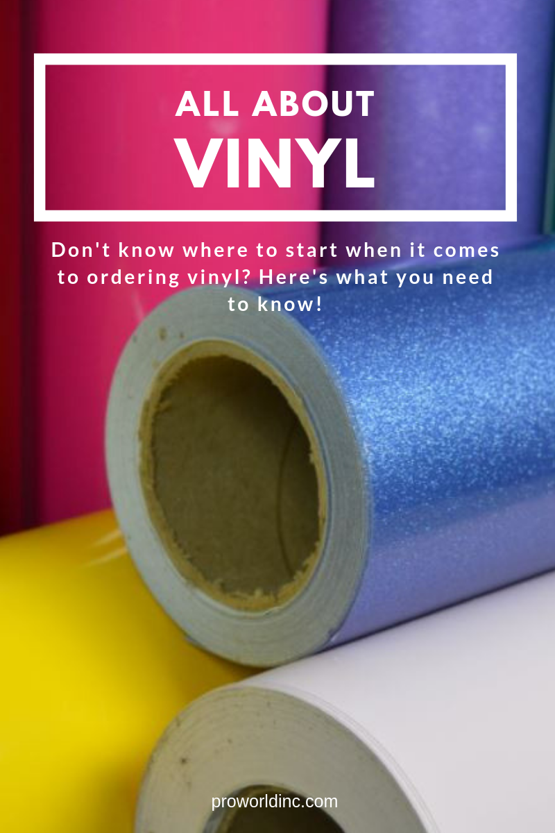Get the vinyl 411 with this all about vinyl article from the experts at Pro World