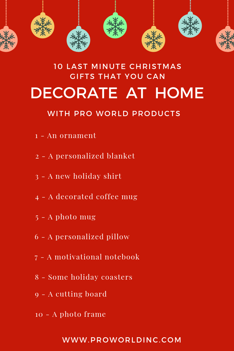 last minute christmas gifts that you can make