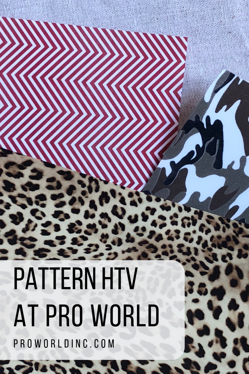 Pattern HTV at Pro World