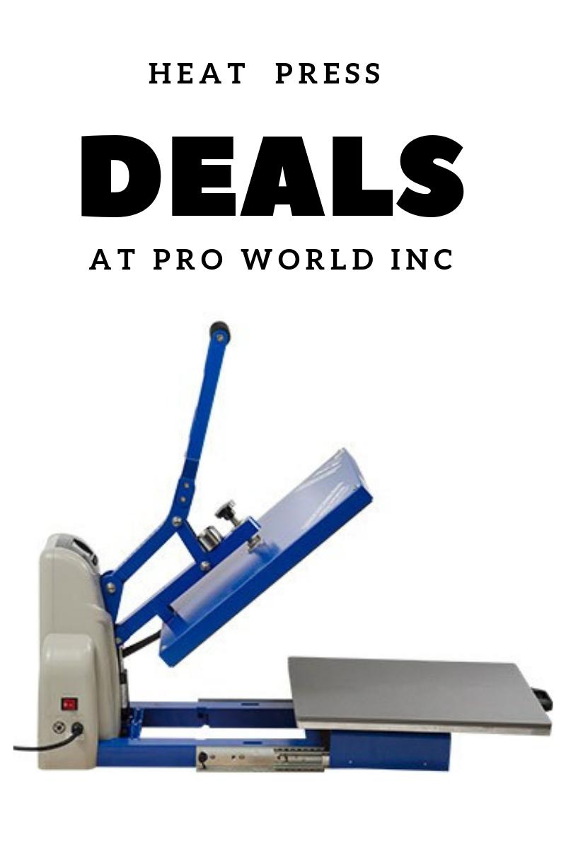 heat press deal