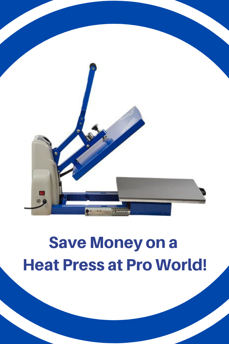 Save Money On A Heat Press