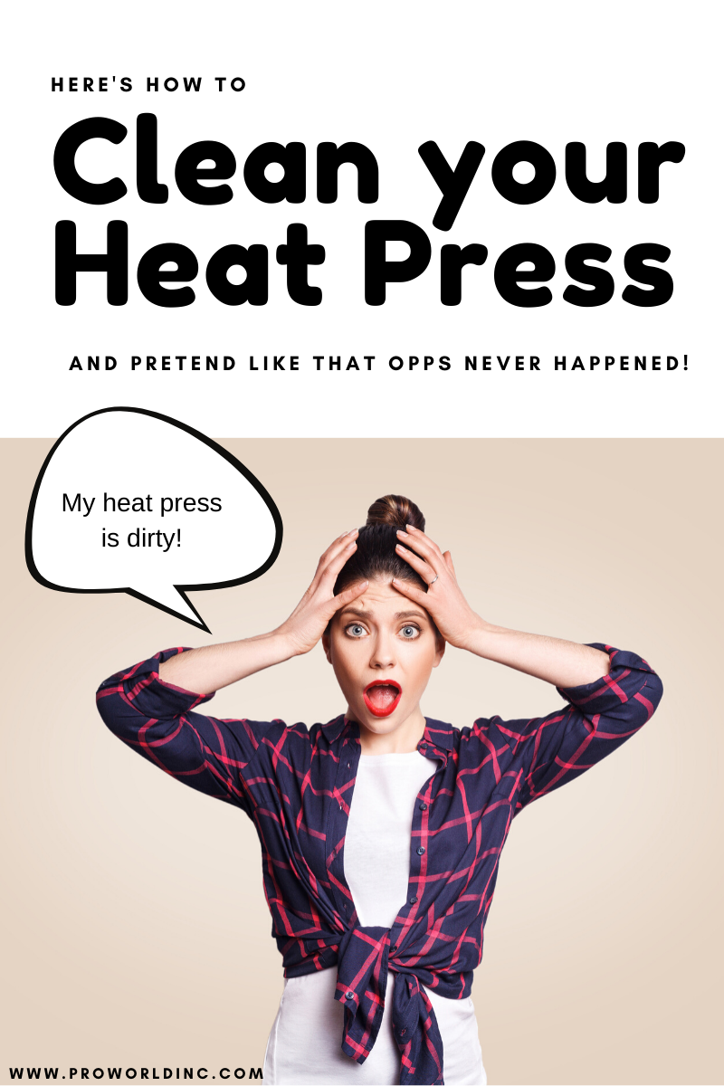 Clean your Heat Press