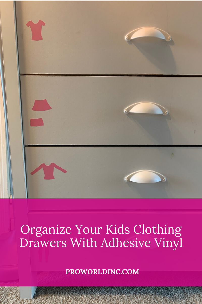 Organize Your Kids Clothing Drawers