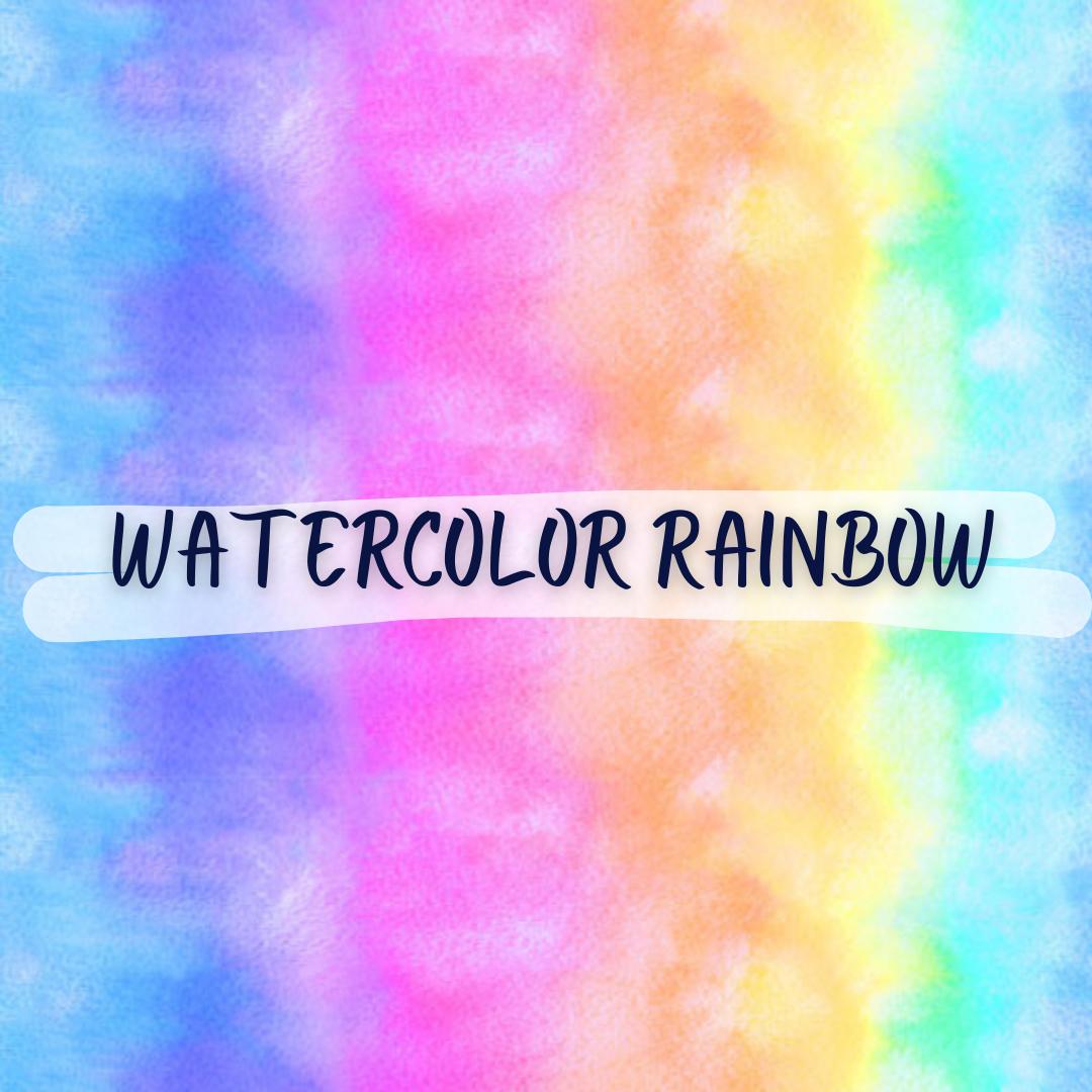 Watercolor Rainbow,