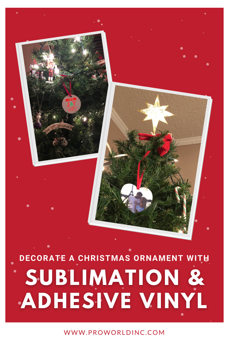 2 ways to decorate a christmas ornament