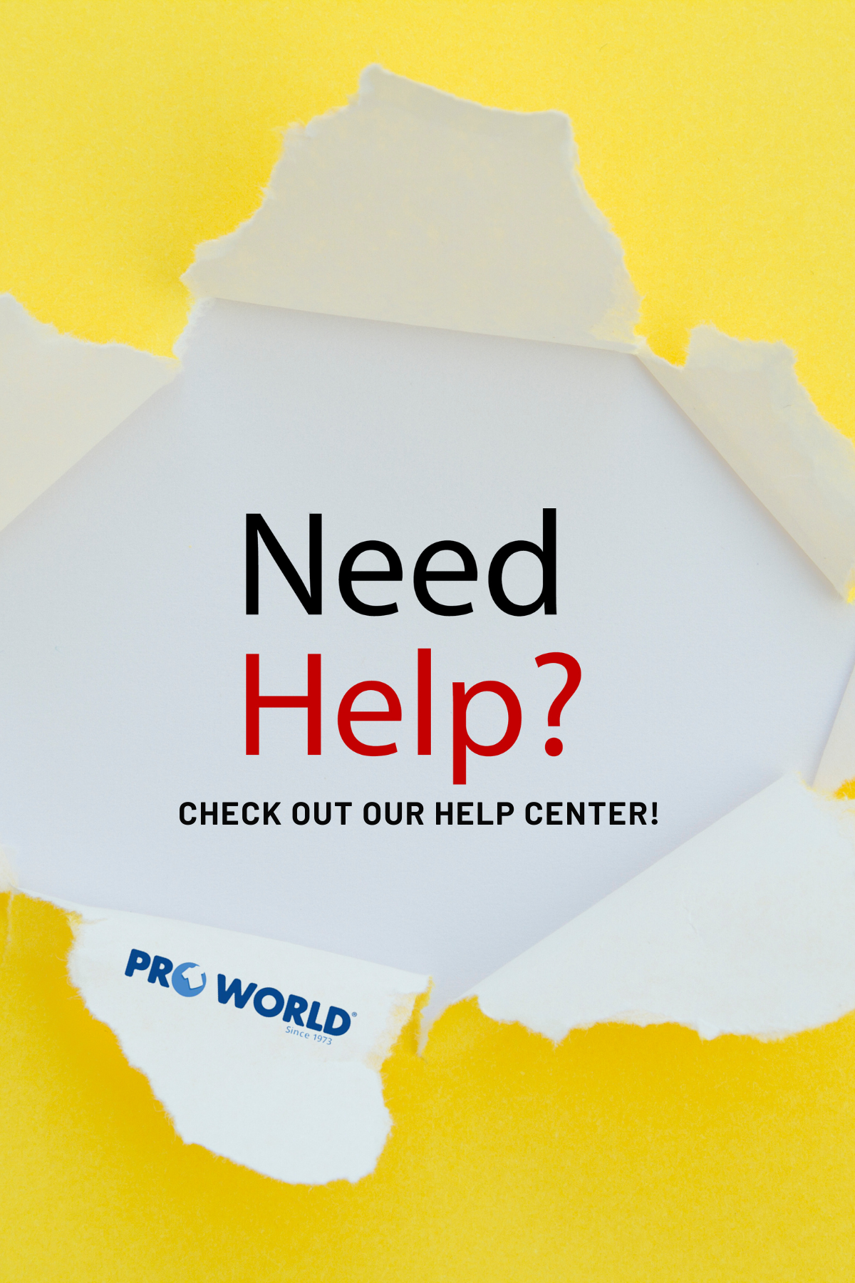 pro world help center