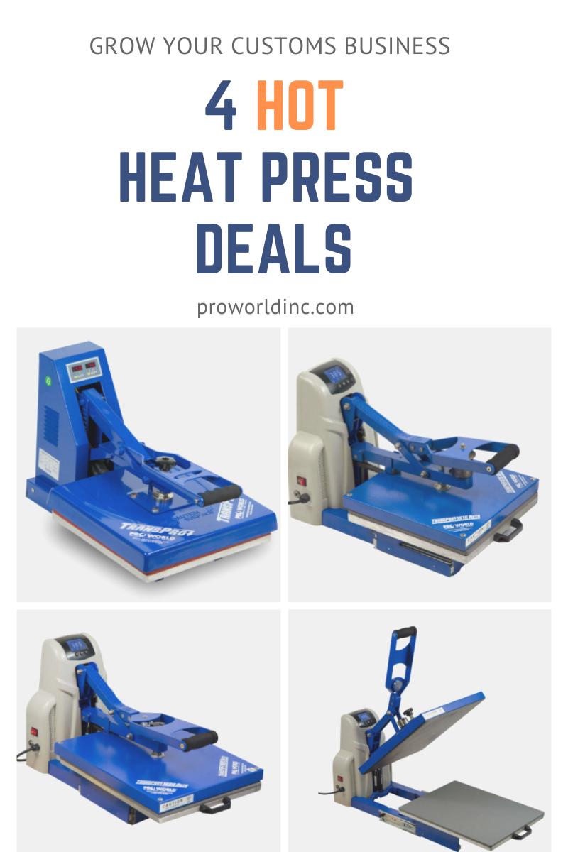 4 hot heat press deals