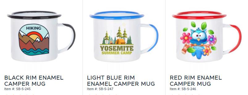 sublimation camper mugs